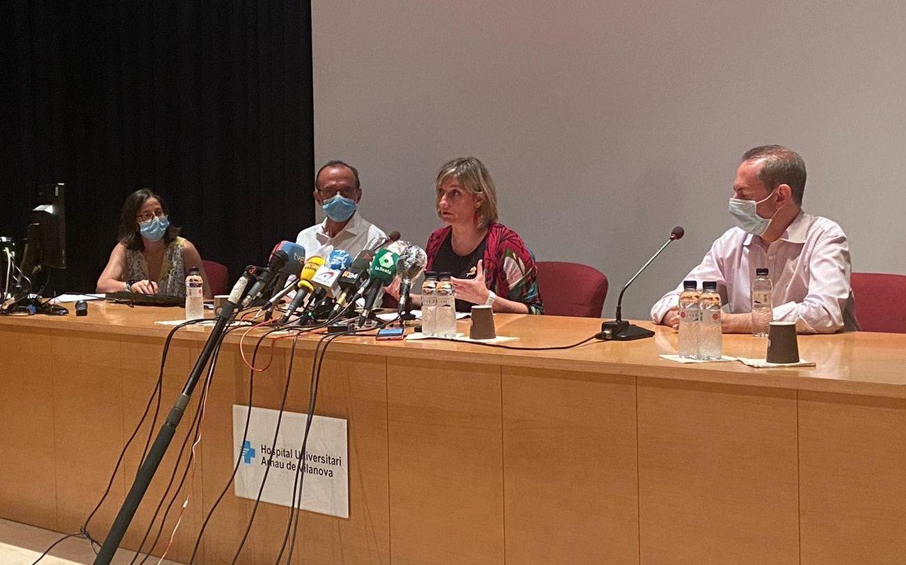 Divina Farreny, Miquel Pueyo, Alba Vergès i Ramon Sentis, aquest vespre a l'Hospital Arnau de Vilanova