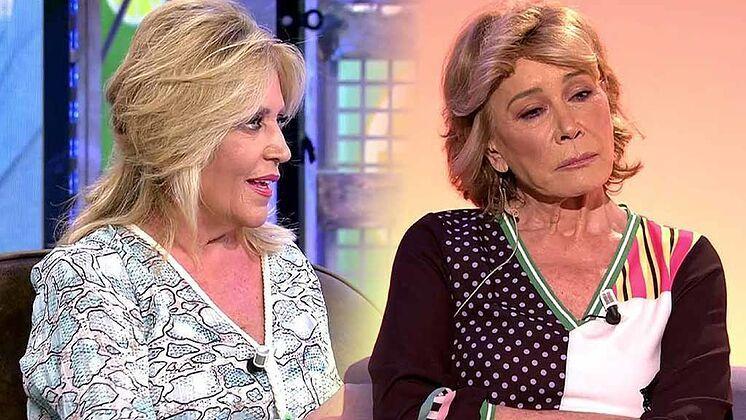 Lydia Lozano i Mila Ximénez a 'Sálvame'   Telecinco