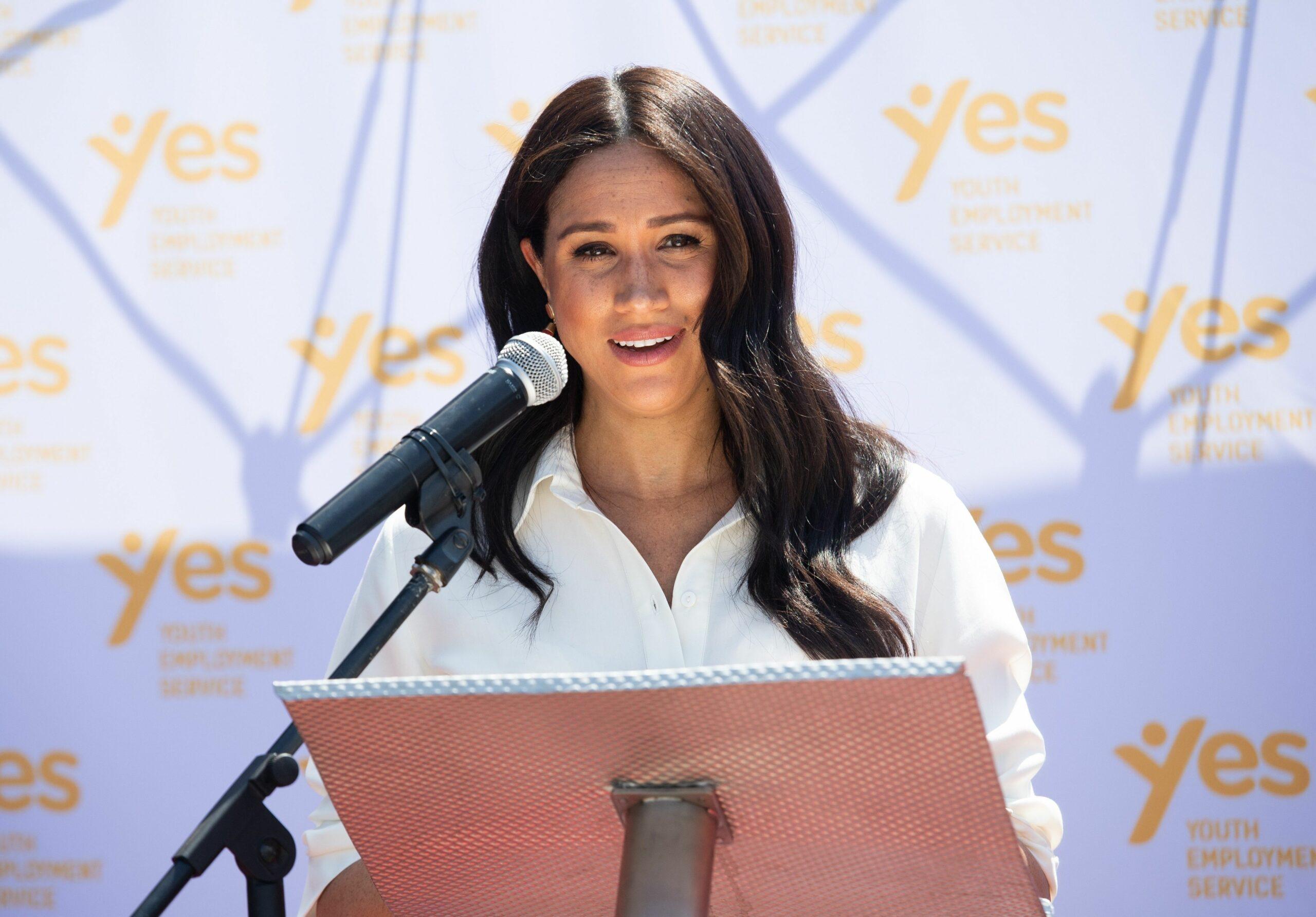Meghan Markle ofereix un discurs   Europa Press