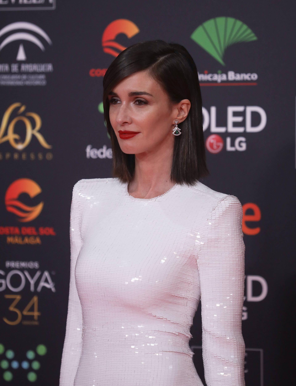 Paz Vega, a la catifa vermella dels premis Goya   Europa Press