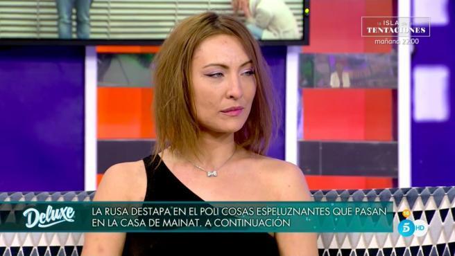 Alina a 'Sábado Deluxe'   Telecinco