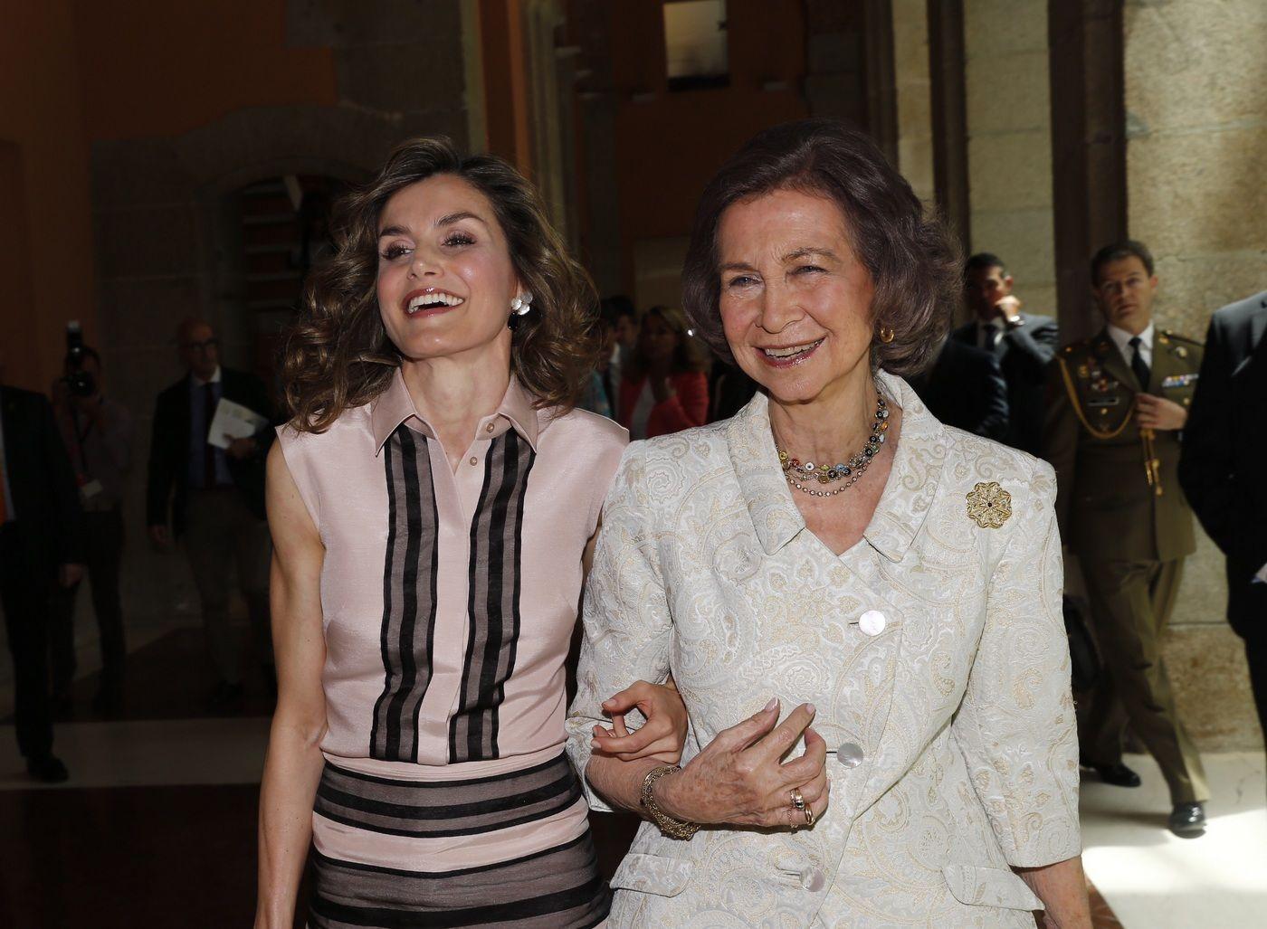 Letícia i Sofia en una foto d'arxiu   Casa Reial