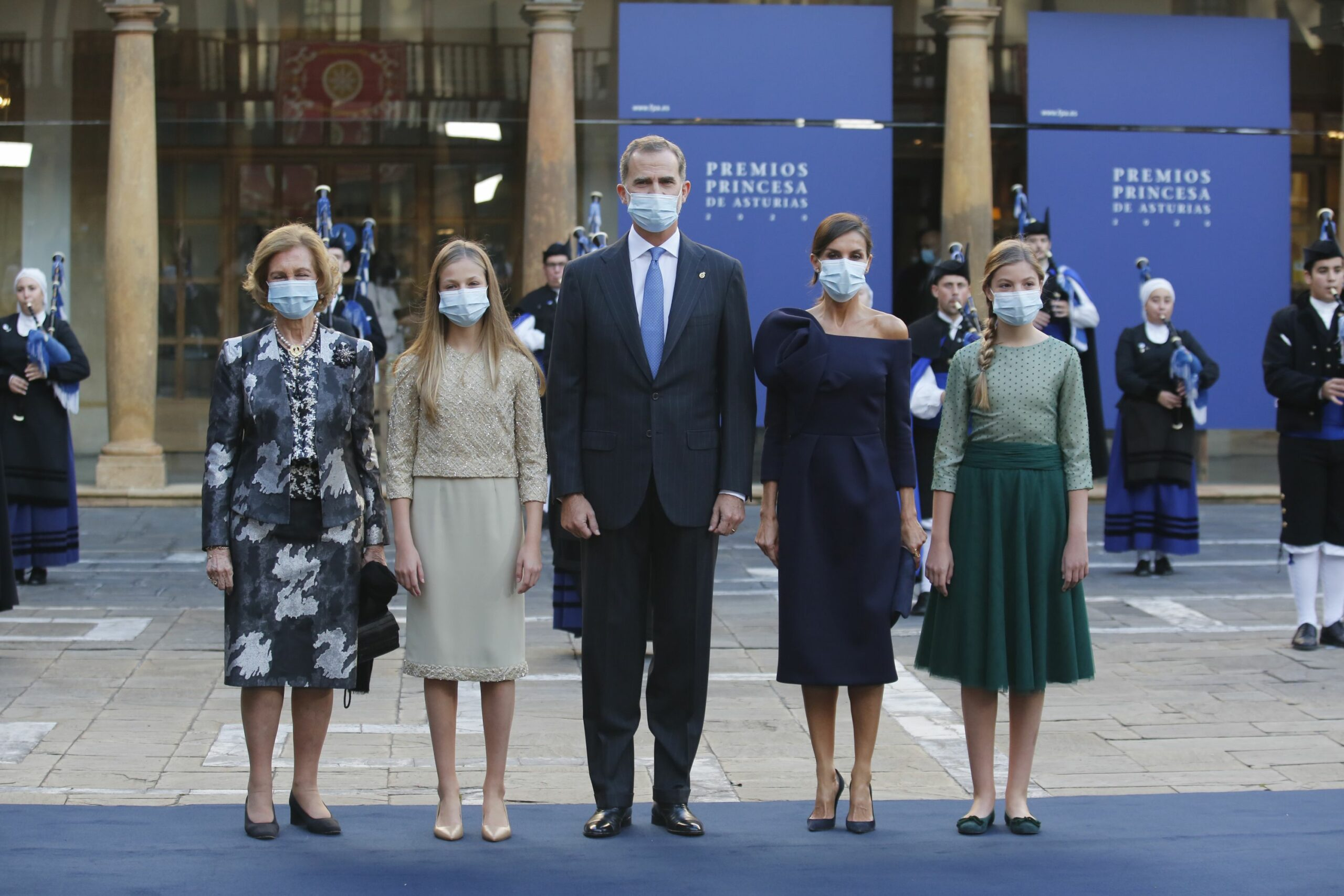 La família reial en els premis Princesa d'Astúries   Europa Press