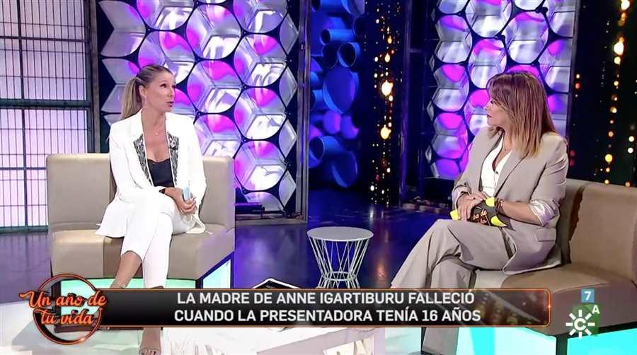 Toñi Moreno entrevista Anne Igartiburu   Canal Sur