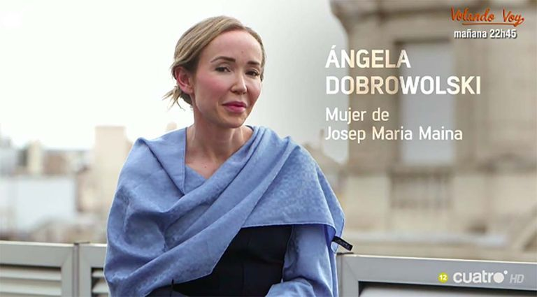 Ángela Dobrowolski dona la seva versió   Cuatro
