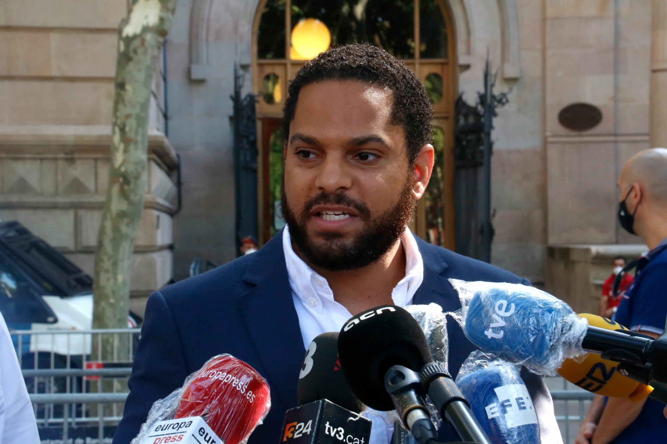 El candidat de Vox Ignacio Garriga