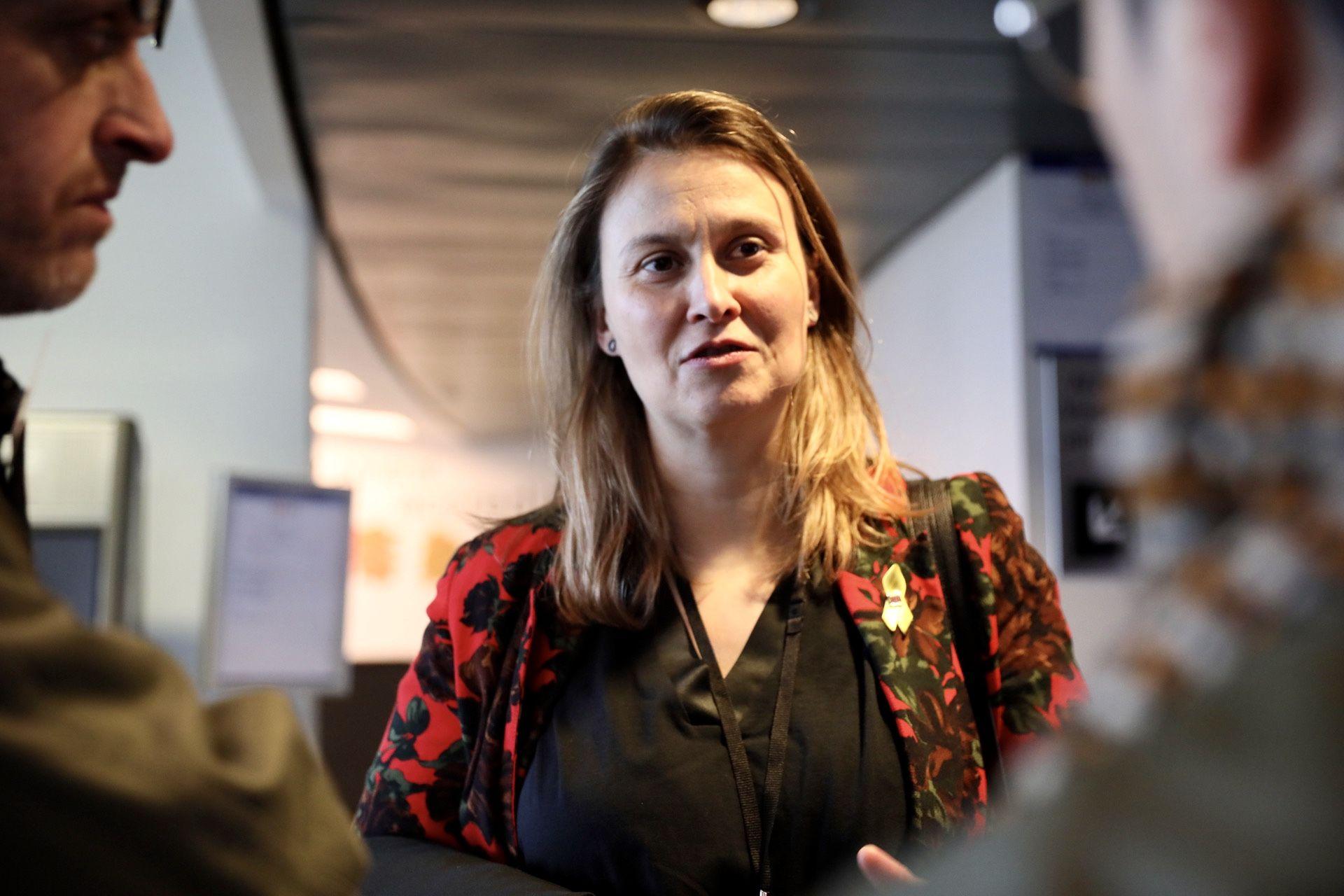 La delegada del Govern a Brussel·les, Meritxell Serret