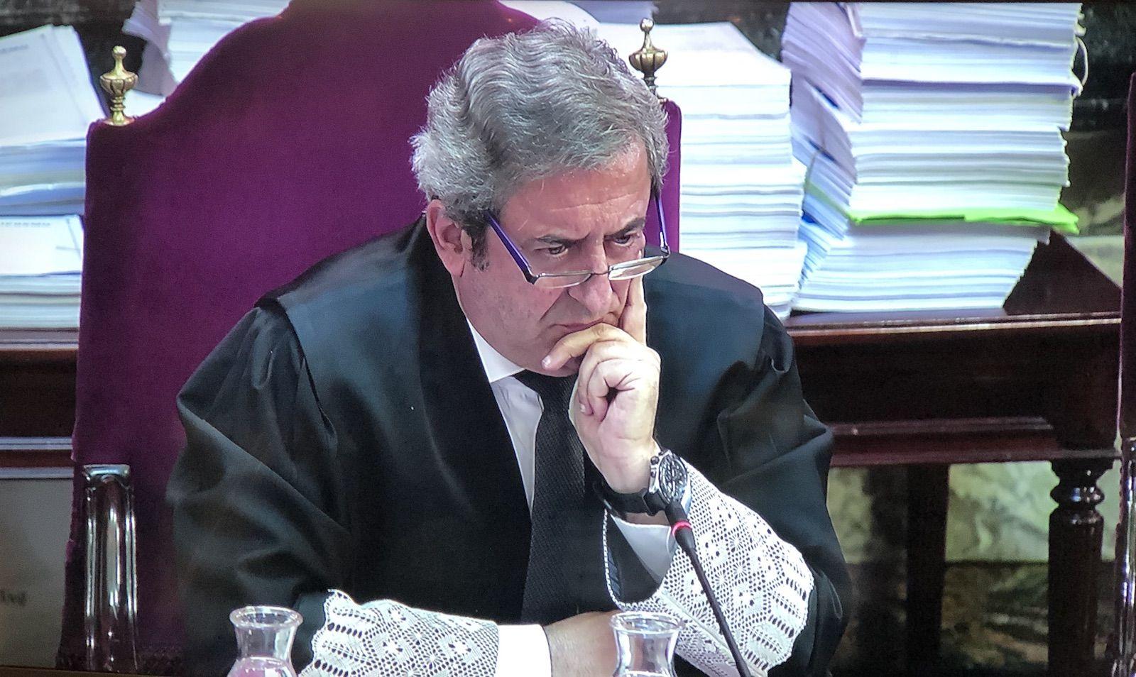 Zaragoza, en un moment del judici del proc?s