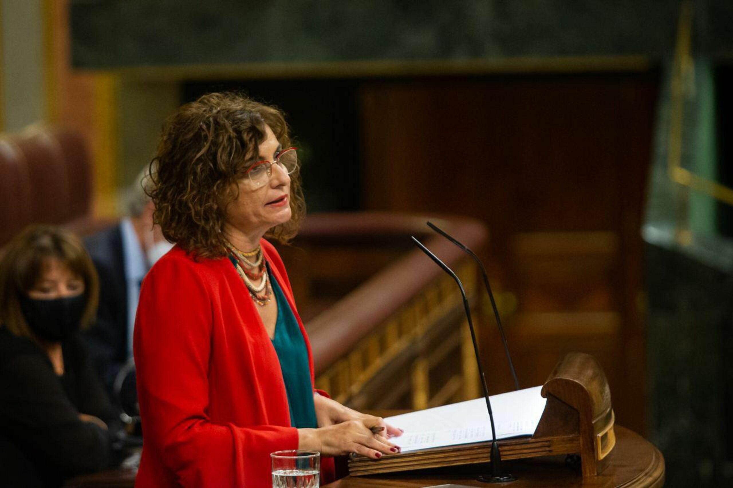 La ministra d'Hisenda, María Jesús Montero / ACN