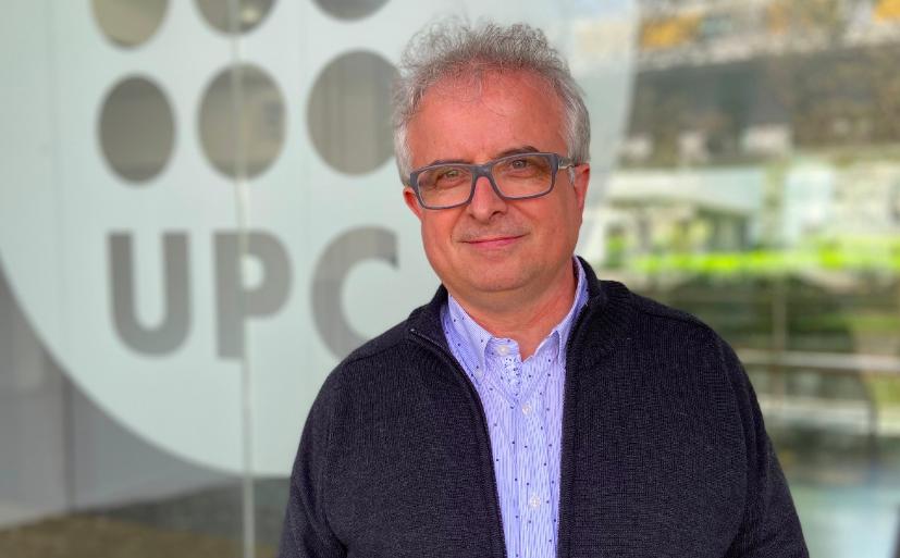 El físic de la UPC Daniel López Codina (Cedida)
