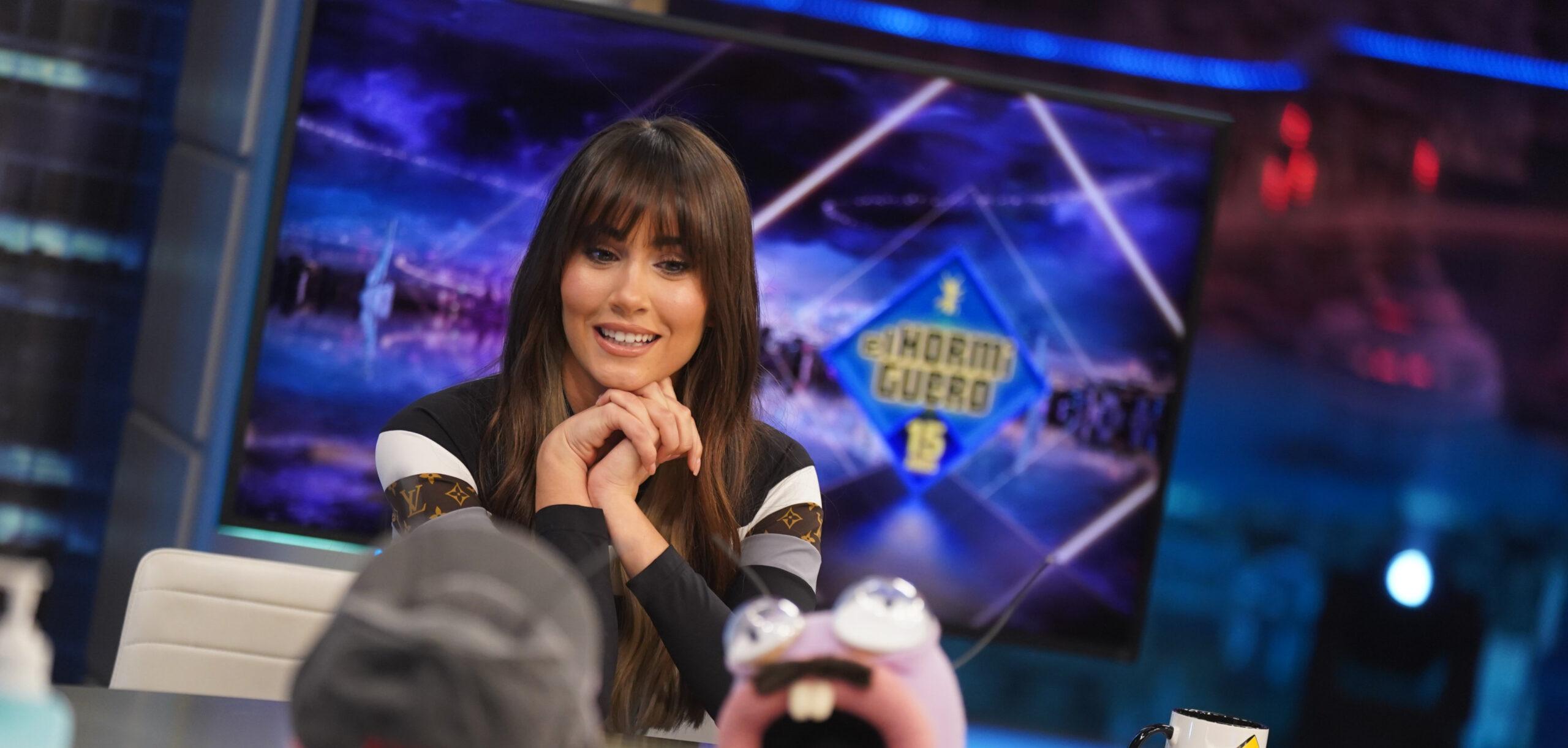 La cantant catalana Aitana, coneguda per 'OT', durant una entrevista a 'El Hormiguero' el passat 21 de desembre / Antena 3