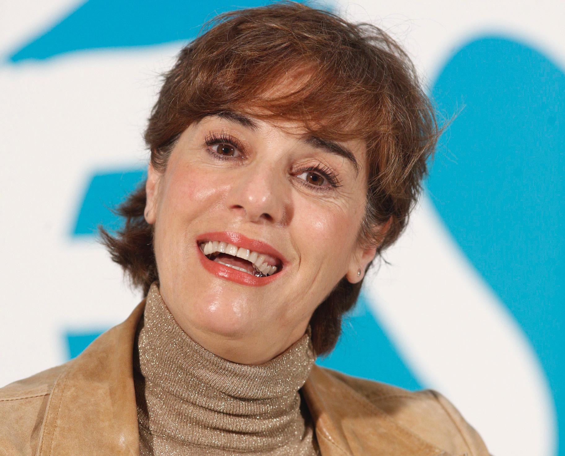Anabel Alonso, durant la presentació de la pel·lícula 'Bikes' / Europa Press