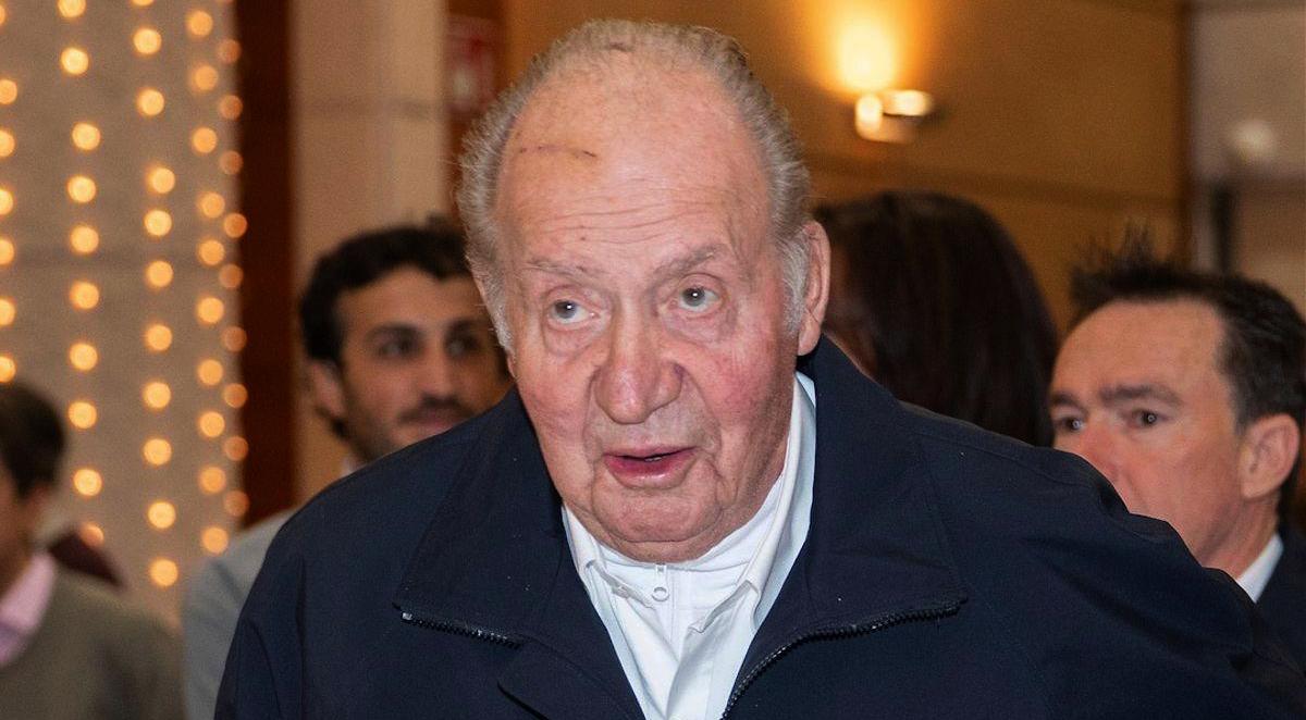 Joan Carles, en una de les últimes imatges en públic / Europa Press