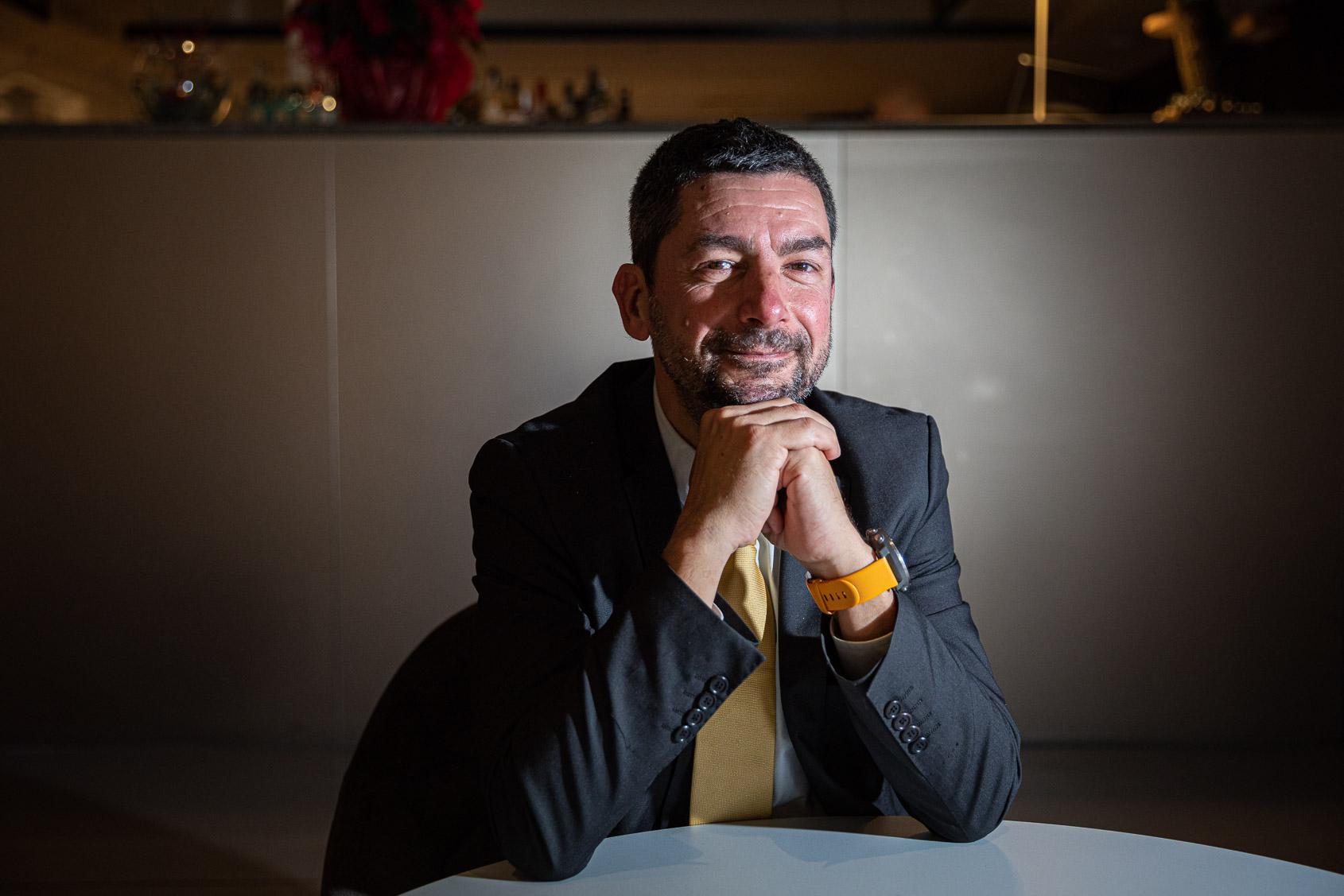 Joan Canadell és president de la Cambra de Comerç de Barcelona i candidat de JxCAT JORDI BORRÀS