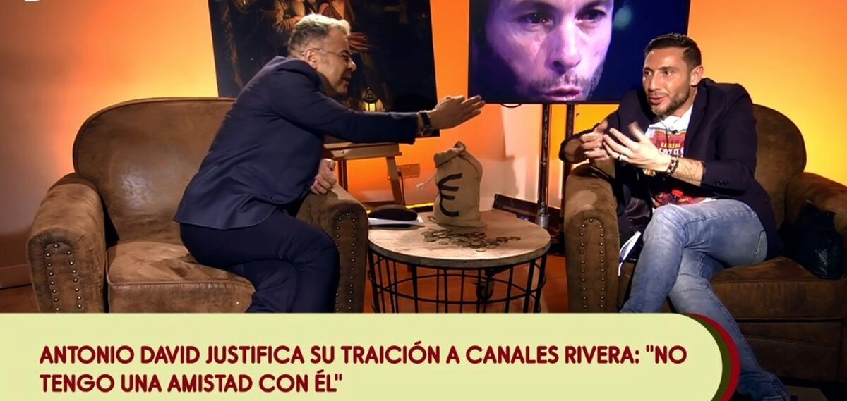Jorge Javier Vázquez i Antonio David Flores discuteixen en directe a 'Sálvame' / Telecinco