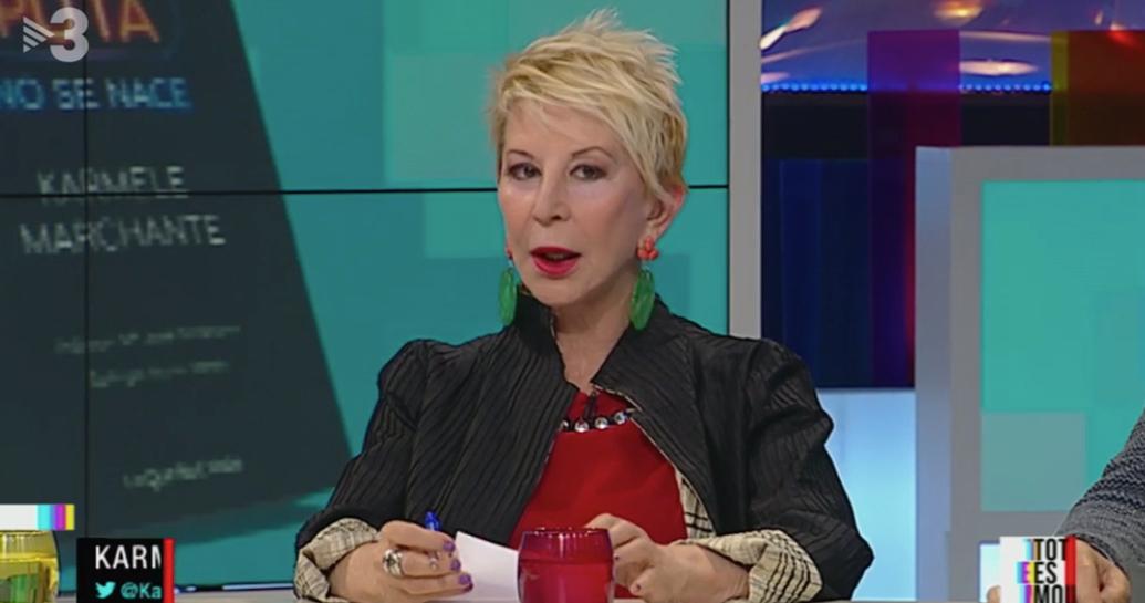 Karmele Marchante a 'Tot es mou' / TV3