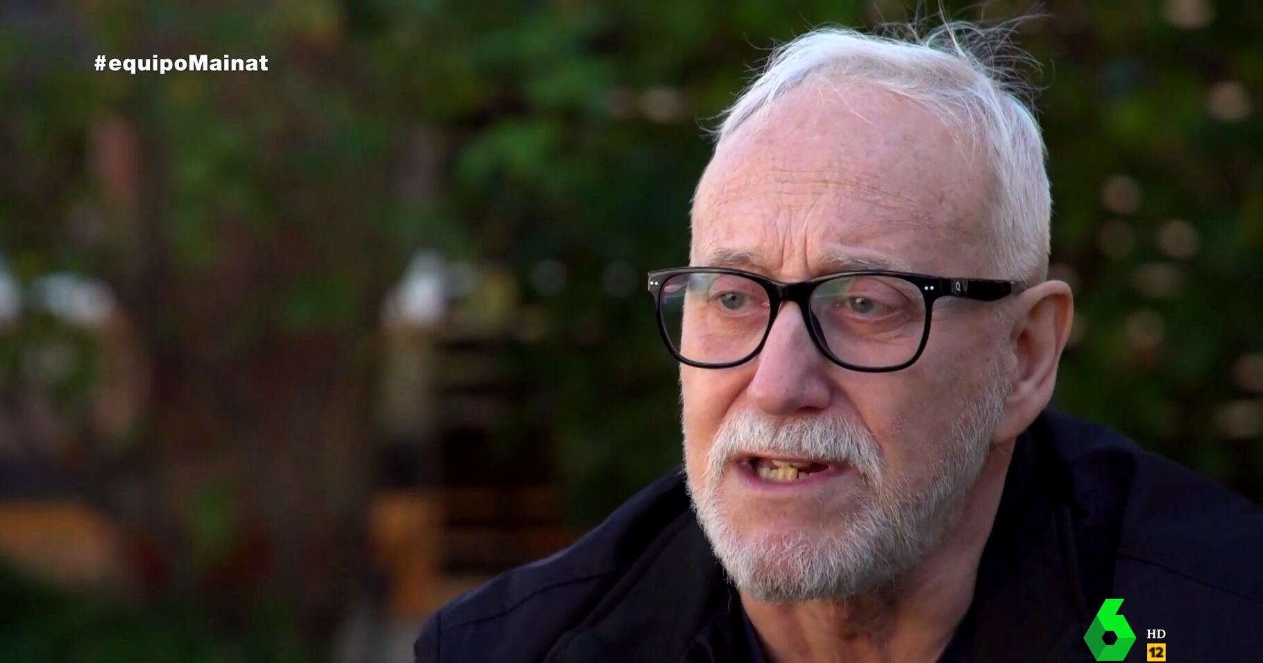 Josep Maria Mainat concedeix una entrevista a 'Equipo de investigación' de La Sexta