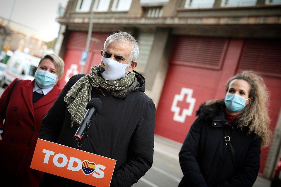 El candidat de Cs a la presidència de la Generalitat, Carlos Carrizosa | ACN