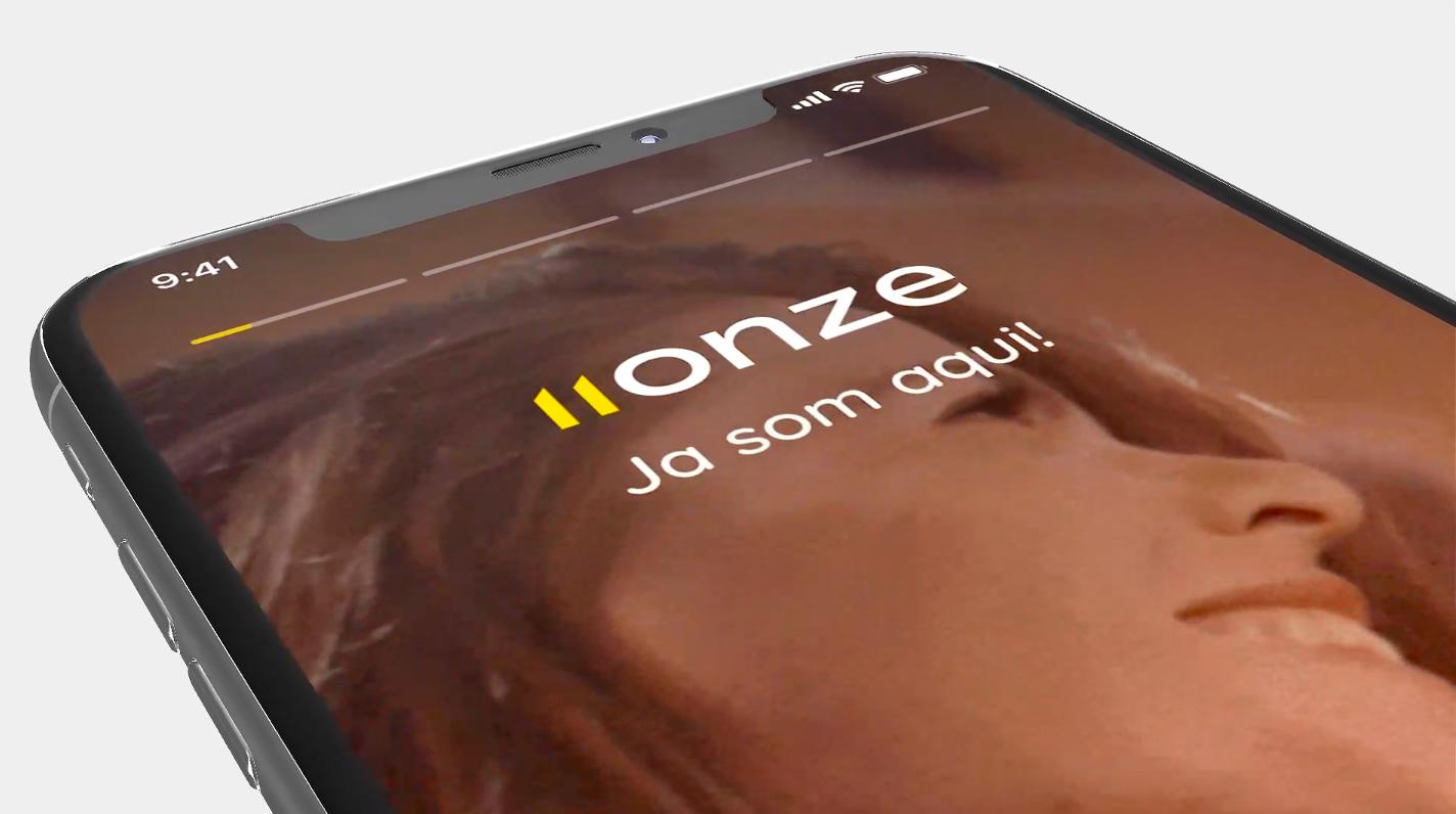 Imatge promocional de l'aplicació test del banc 11Onze