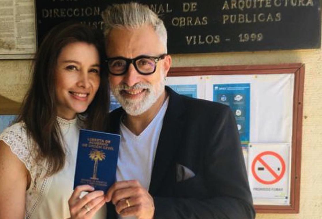 Sergi Arola publica una fotografia de la boda / Instagram