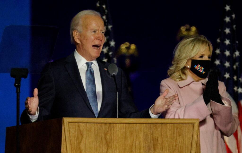 Joe Biden amb la seva dona, Jill Biden | ACN