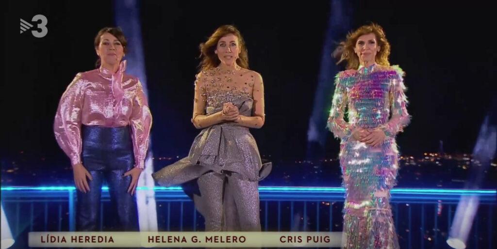 Les presentadores de les Campanades del 2020 / TV3