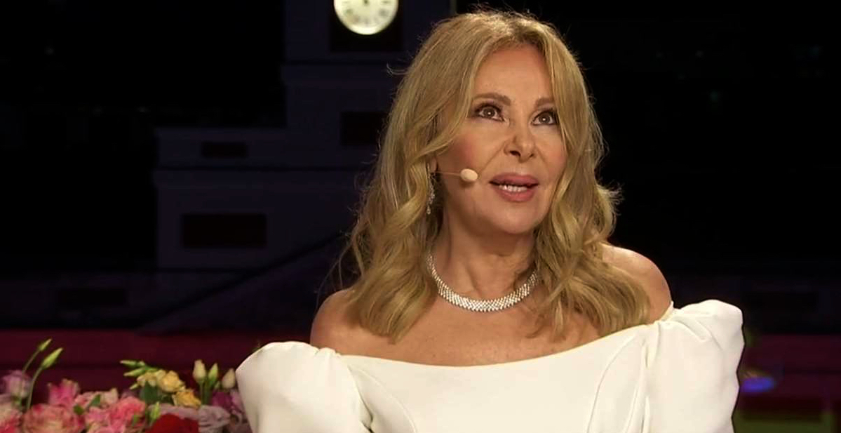 Ana Obregón, molt emocionada durant les campanades / TVE