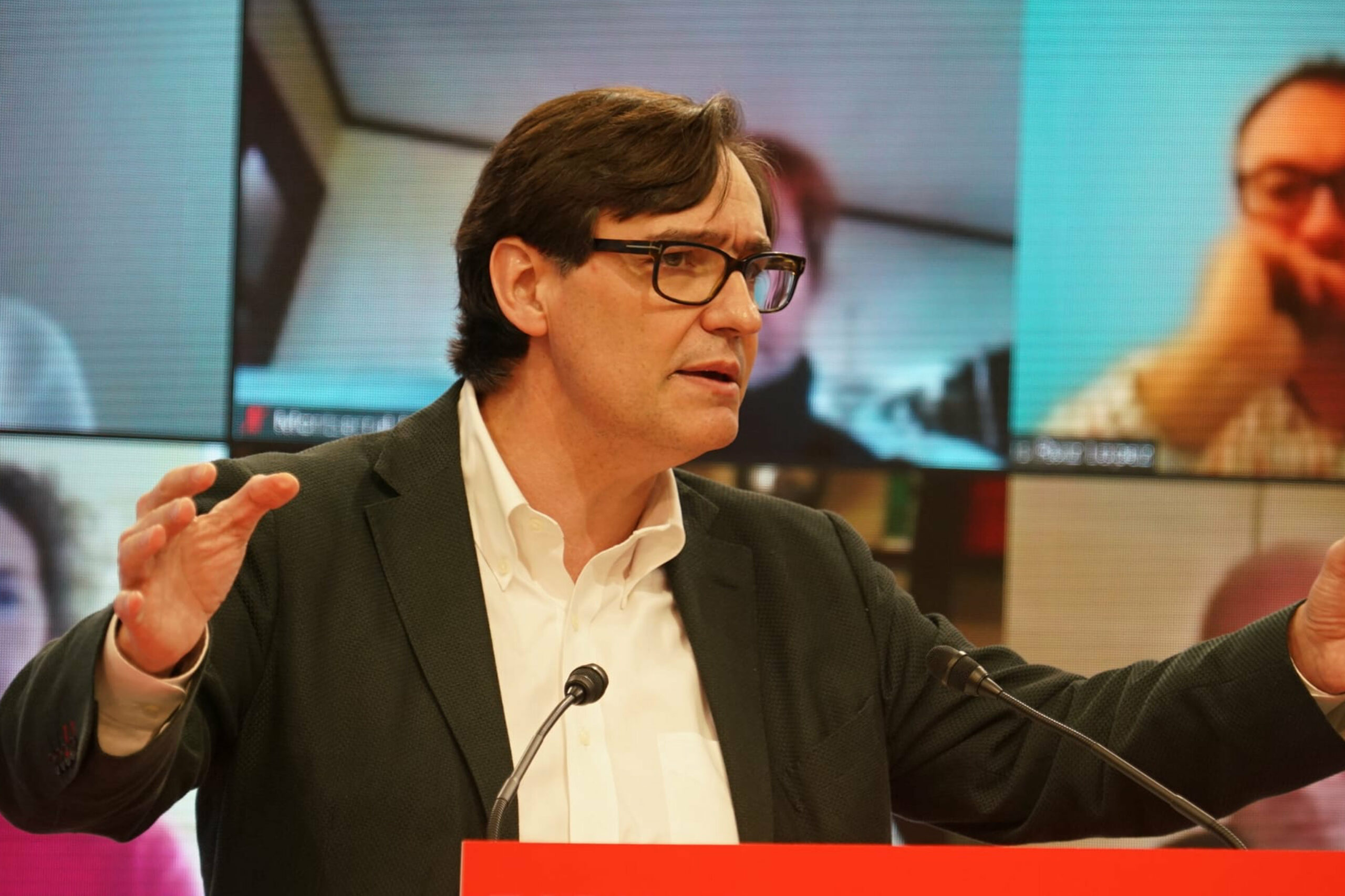 El candidat del PSC a les eleccions catalanes, Salvador Illa | ACN