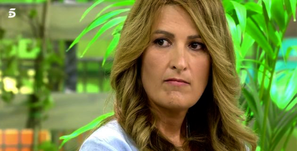 Laura Fa, enfadada a 'Sálvame' / Telecinco