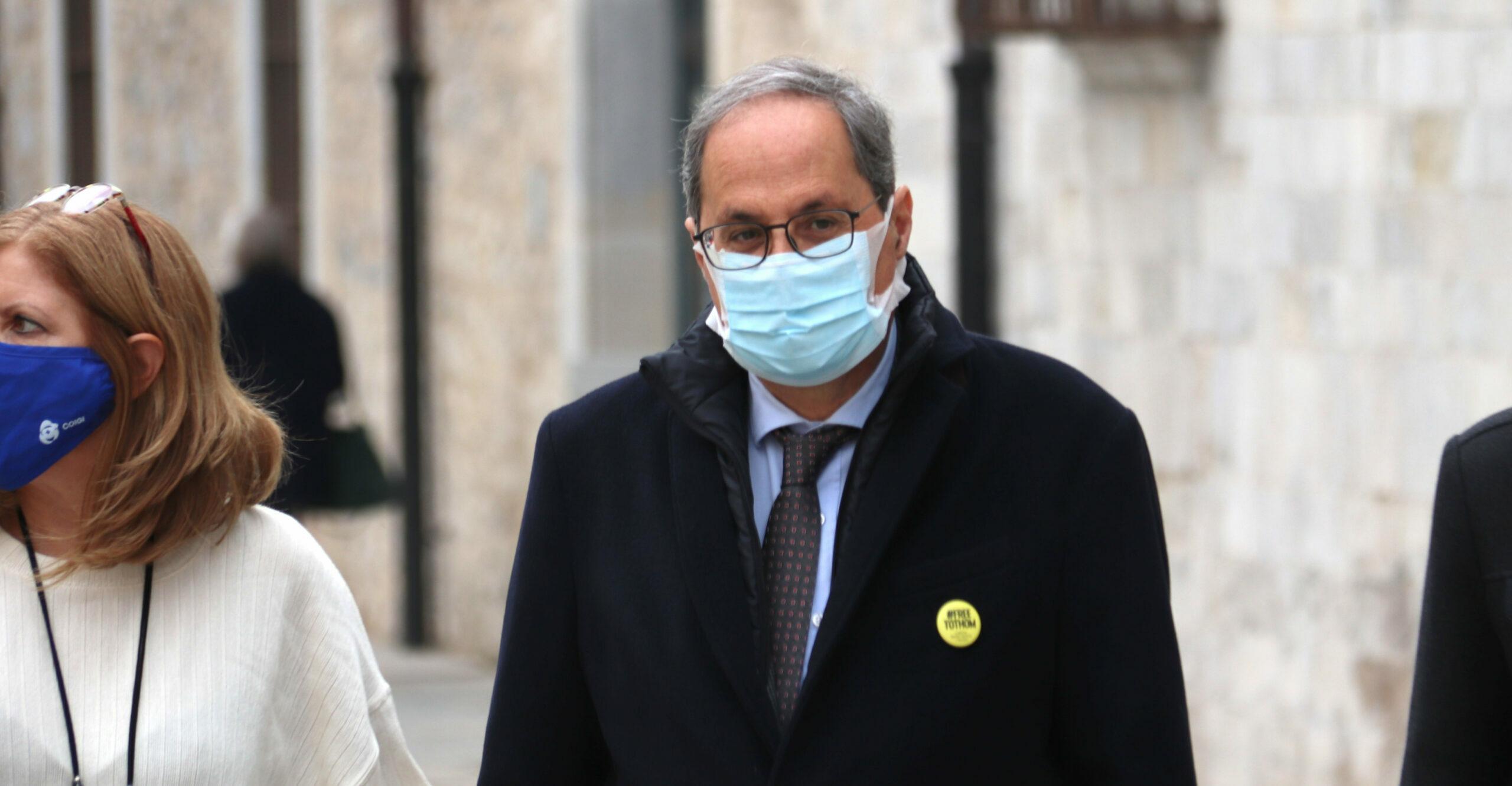 L'expresident de la Generalitat, Quim Torra | ACN