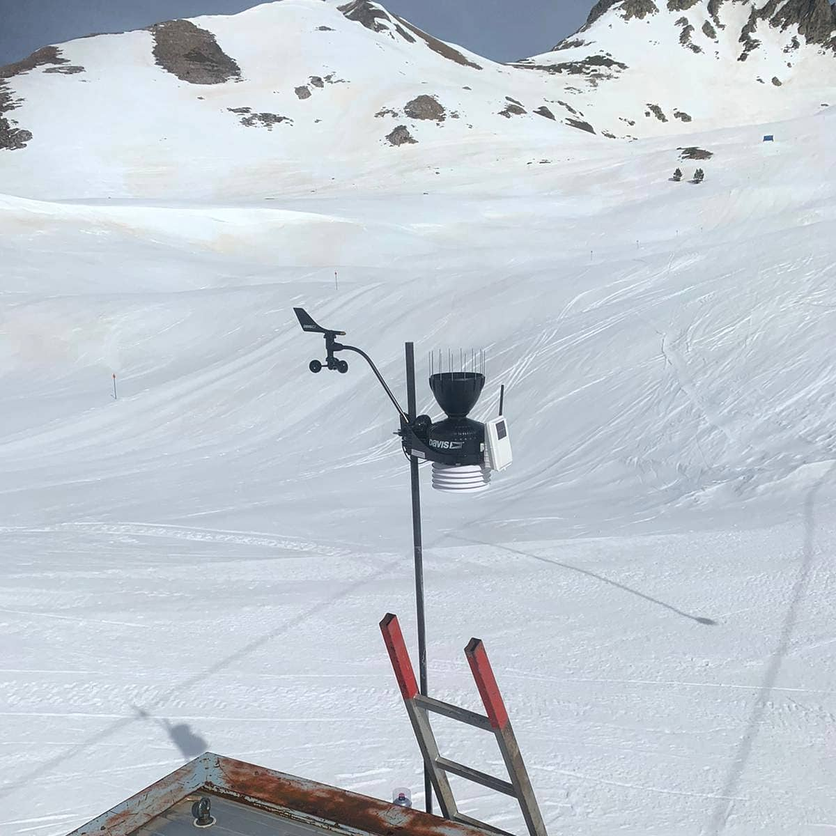 Estació meteorològica del Clot de la Llança, al Pallars Sobirà | PARC NATURAL DE L'ALT PIRINEU