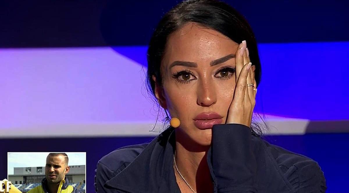 Aurah Ruiz rep la trucada de Jesé en directe / Telecinco