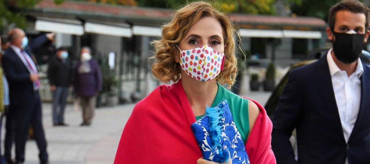 Ágatha Ruiz de la Prada, en una de les últimes imatges en públic / Europa Press