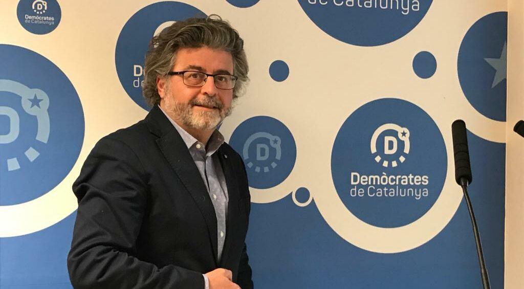 Toni Castellà, en un moment de l'entrevista/QS