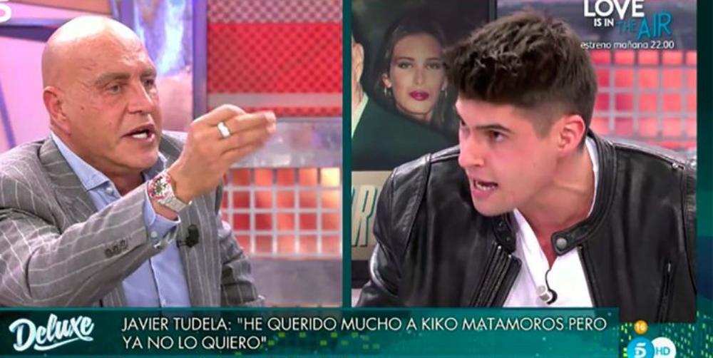 Kiko Matamoros i Javier Tudela es diuen de tot en directe / Telecinco