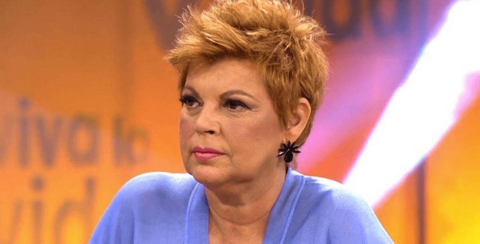 Terelu Campos mostra la seva preocupació per la mare a 'Viva la vida' / Telecinco