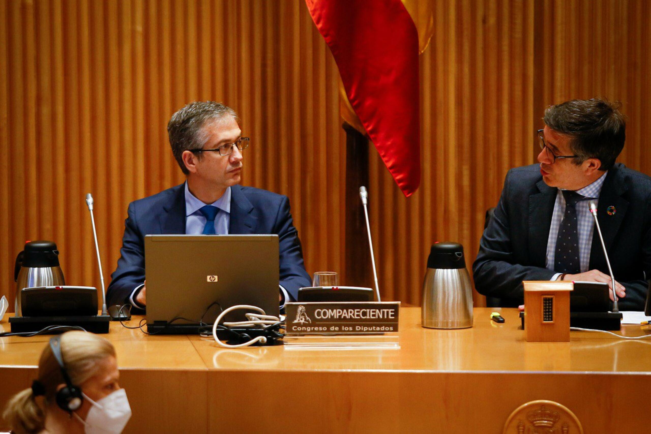 El governador del Banc d'Espanya, Pablo Hernández de Cos | ACN