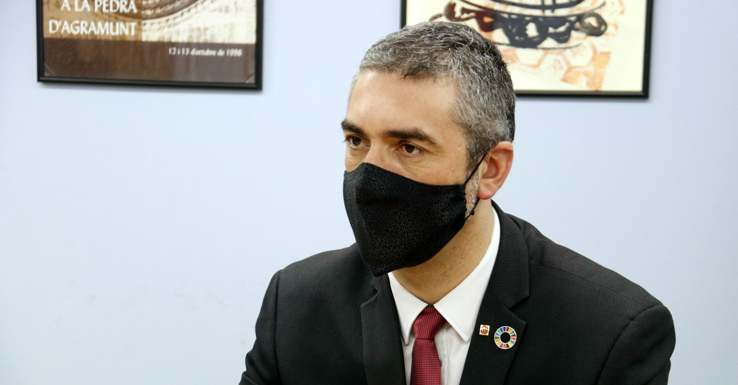 El conseller d'Acció Exterior, Relacions Institucionals i Transparència, Bernat Solé | ACN