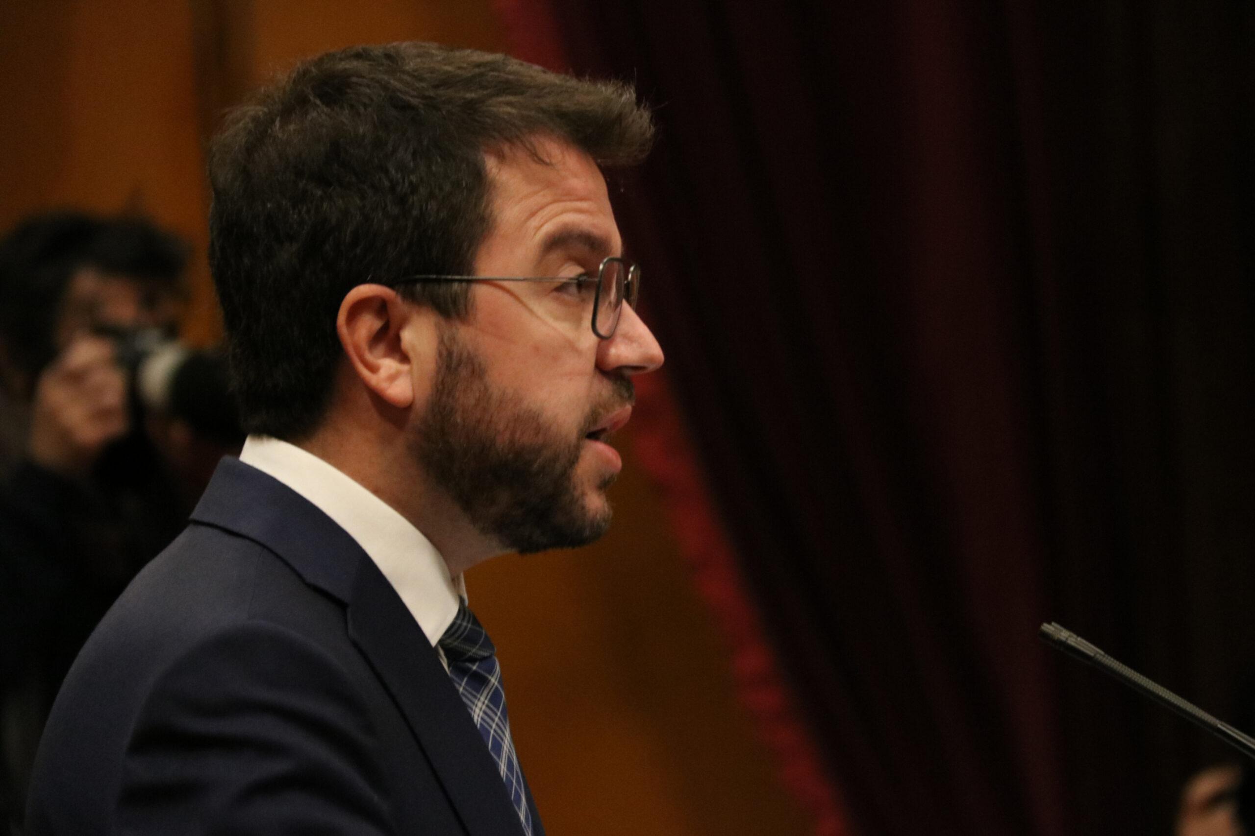 El vicepresident amb funcions de president, Pere Aragonès | ACN