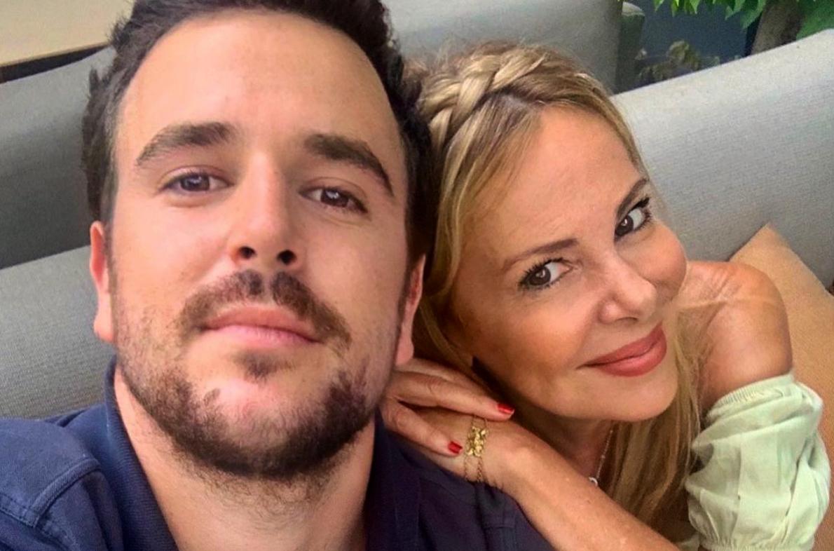 Álex Lequio i Ana Obregón en una foto d'arxiu / Instagram