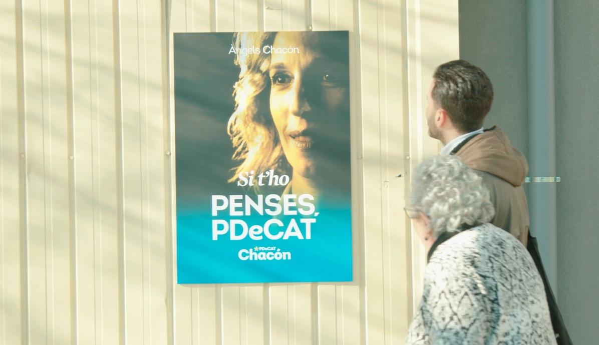 Un frame de l'anunci del PDeCAT