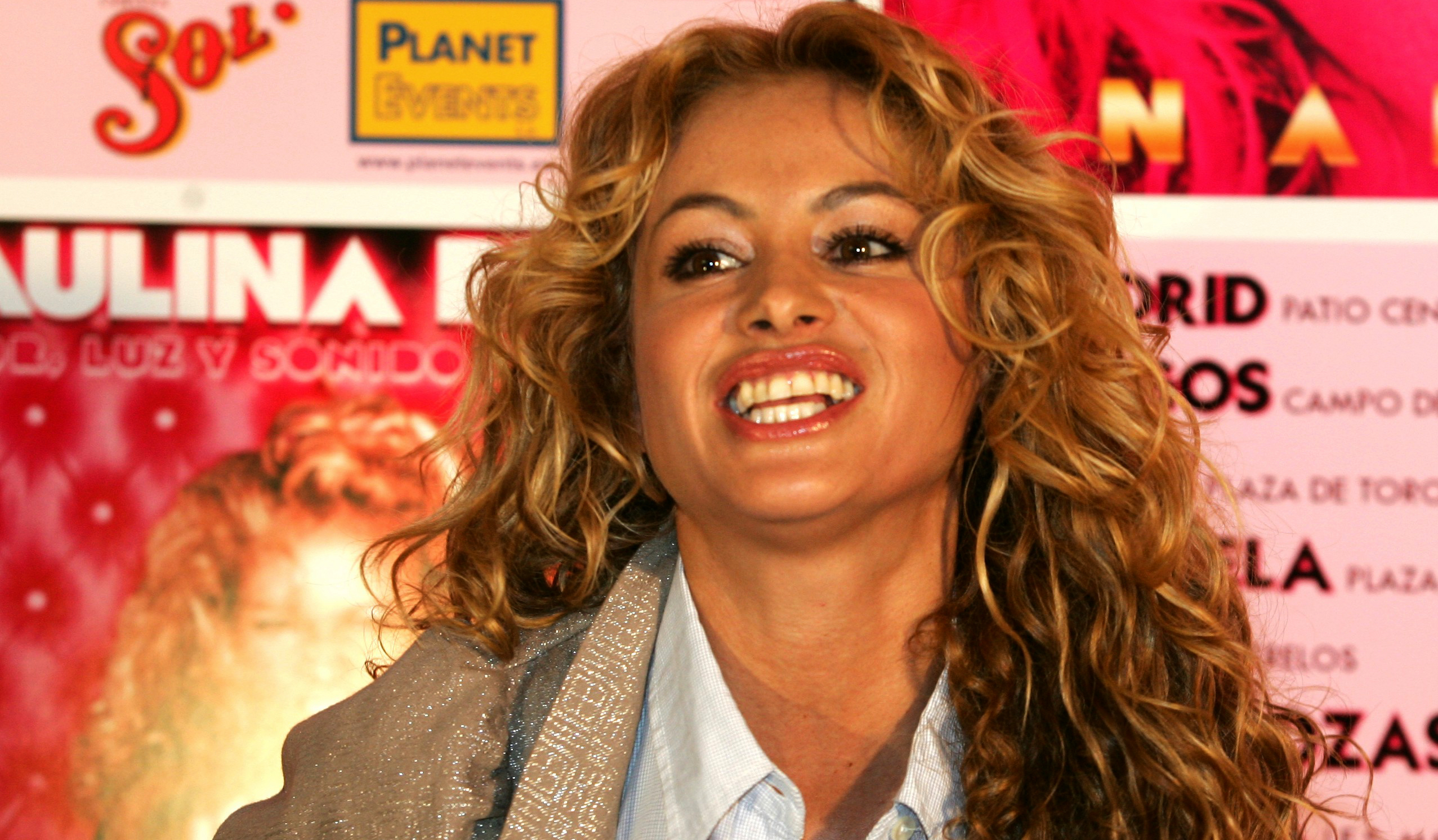 Paulina Rubio, durant la presentació de la nova gira per Espanya / Europa Press