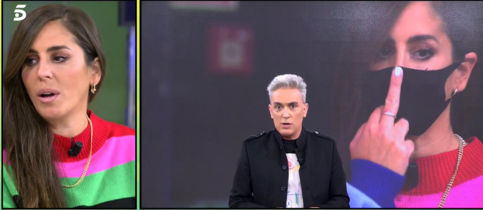 Anabel Pantoja enfadada amb els companys de 'Sálvame' / Telecinco