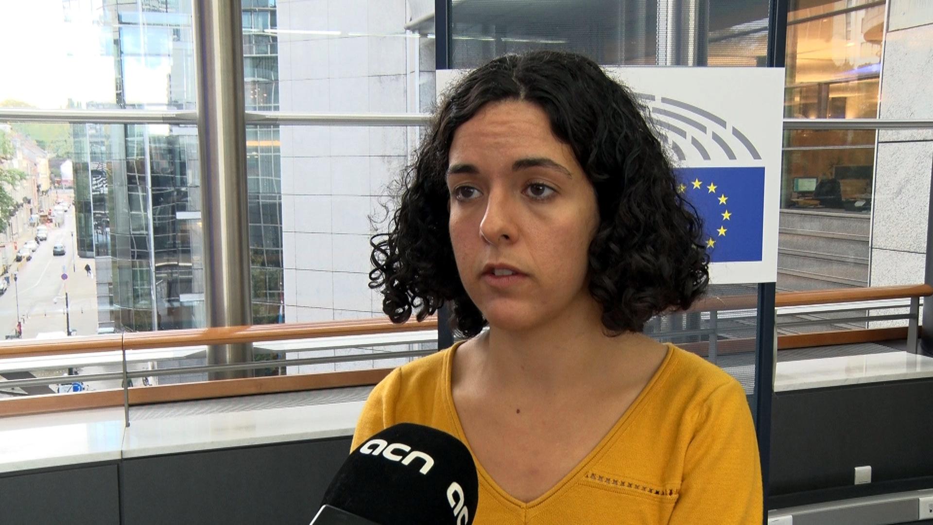 La colíder de l'Esquerra Unitària Europea, Manon Aubry | ACN