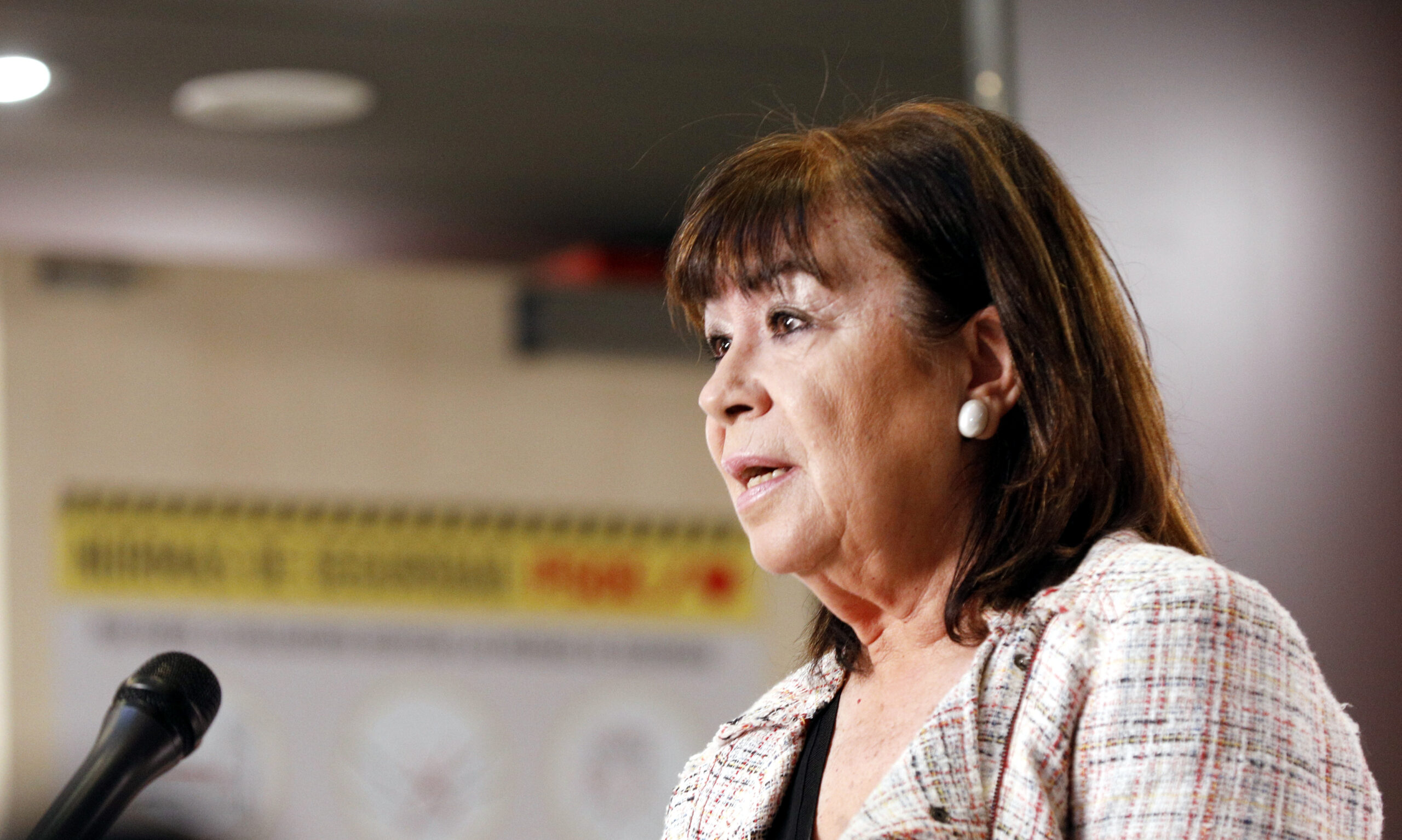 La presidenta del PSOE, Cristina Narbona | ACN
