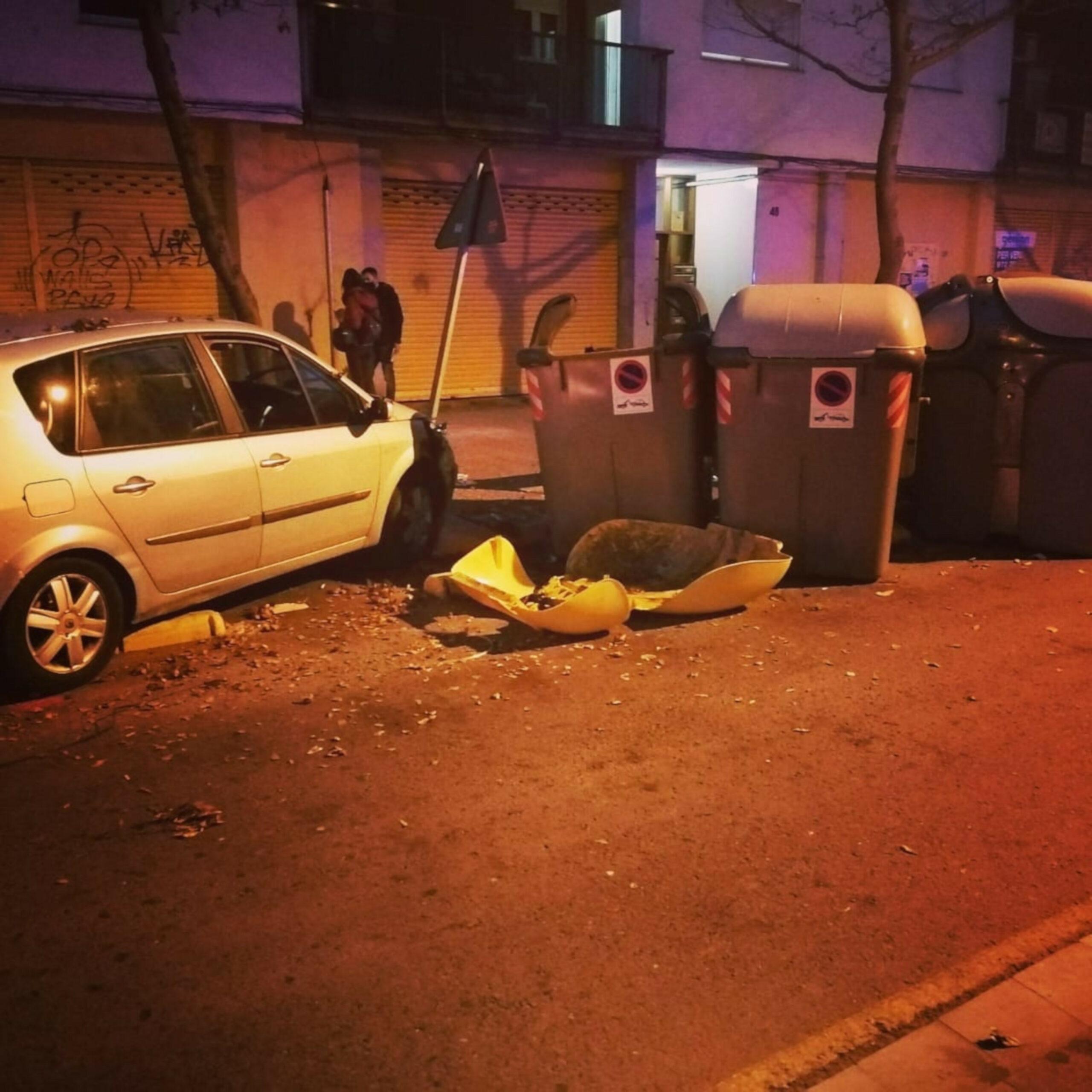 El cotxe accidentat aquest divendres | ACN