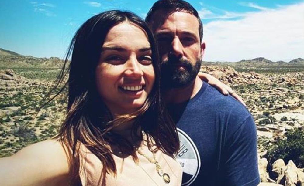 Ana de Armas i Ben Affleck, junts en una foto d'Instagram