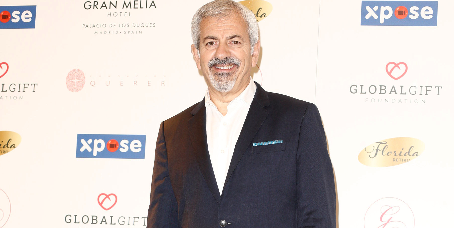 Carlos Sobera, en el 'photocall' de la IV The Global Gala Gift a Madrid / Europa Press