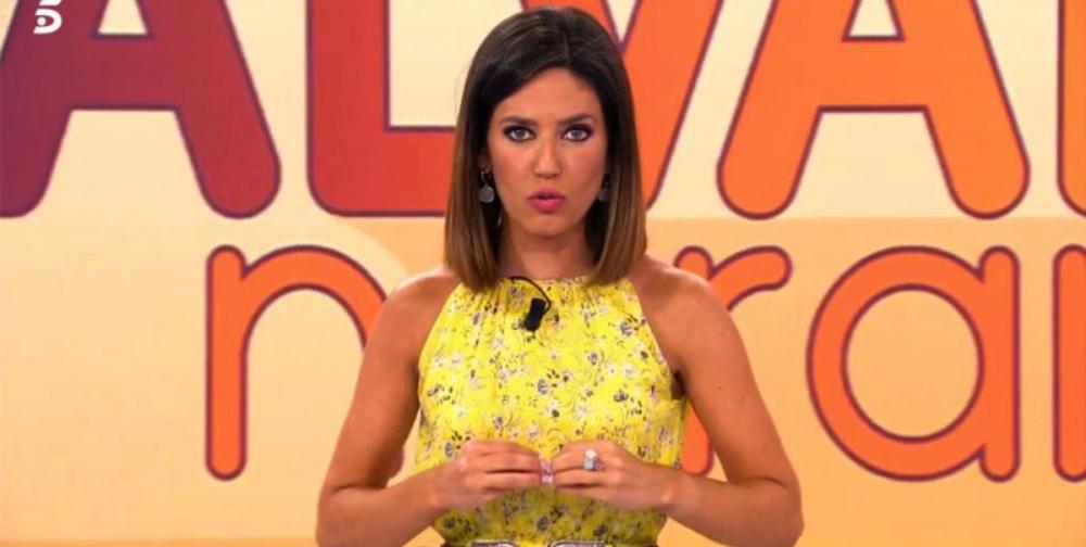 Nuria Marín, molt enfadada a 'Sálvame' / Telecinco