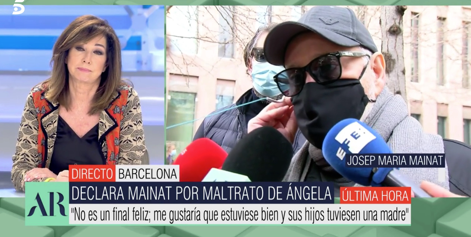 Ana Rosa Quintana entrevista Josep Maria Mainat / Telecinco